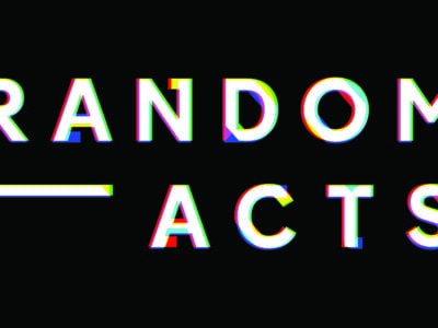 Masterclass at Random Acts: Creative Futures