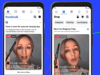 FB launches Shoppable Live Streams
